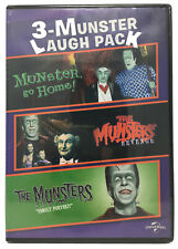 3-Munster Laugh Pack DVD Movies Three Films: Go Home/Revenge/Family Portrait-NEW