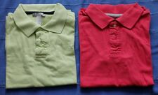 Lot de 2 polos manches courtes, Decathlon, fille, 12 ans, TBE