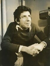 LEONARD COHEN 70s VINTAGE PHOTO ORIGINAL #5