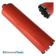 """4-1/2"""" Wet Diamond Core Drill Bits for Concrete Granite Coring 1-1/4""""-7 Arbor"""