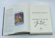 President George W. Bush Signed Decision Points Book Autographed Jsa Coa