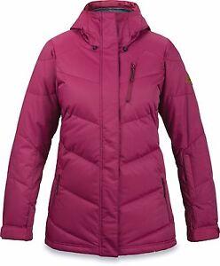 Dakine CASCADIA Womens Zipper Front Hoodie Jacket Medium Rosewood NEW