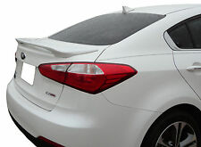 PAINTED SPOILER FOR A KIA FORTE 4-DOOR 2014-2016