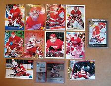 Red Wings Goalie Chris Osgood -12 Diff w/ Rookie & Stanley Cup Years !