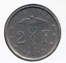 2 frank 1923 frans * Fraai * ALBERT I * nr 6163