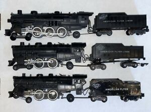 "American Flyer Engines ""RESTORATION GRADE"" Lot #302, 301, and 283"