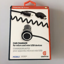 Car Charger Powerjolt 12 V on Micro and Mini USB 1000 Mah Griffin GC23057 #6