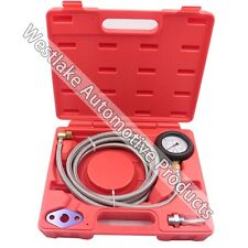 Car Auto Exhaust Back Pressure Tester Gauge Kit Professional Auto Tools