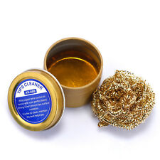 YIHUA Solder Welding Soldering Iron Tip Cleaner Brass Wire Ball With Rosin Flux