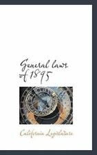 General Laws Of 1895