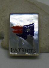 Zuni Bobby Concho New England Patriots Sterling Silver Pendant