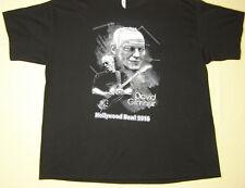 David Gilmour at the Hollywood Bowl 2016 T-Shirt black size 2XL