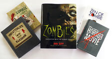 Lot of 5 Horror and Zombie Related Books ~ Zombie Haiku, Zen of Zombie, Zombies