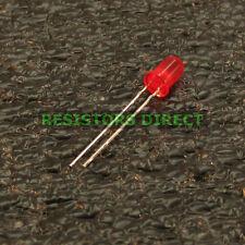 50pcs Round 5mm Red T1-3/4 LED 300 MCD Diffused Kit HAM Radio US Seller 50x V18