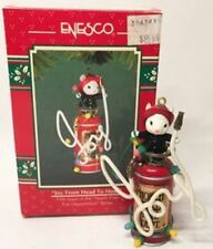 1994 Enesco Ornament ~ Joy From Head to Hose ~ North Pole Fire Department Series