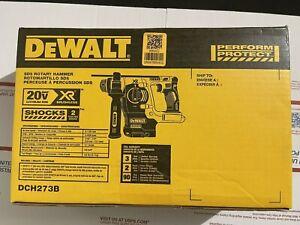 "DEWALT 20V MAX Li-Ion BL SDS 3-Mode 1"" Rotary Hammer (Tool Only) DCH273B New"