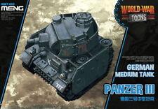 Meng Models World War Toons - German Medium Tank Panzer III [Q Version]