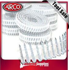 Airco 6000Pk 32mm Screw Shank Coil Nails to Suit Villaboard Blueboard