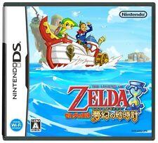 USED The Legend of Zelda: Phantom Hourglass Japan Import Nintendo DS