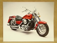 1998 Kawasaki Vulcan Motorcycle Fire & Steel Accessories Brochure Flyer Pamphlet