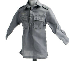 1/6 Scale Dragon WWII German Grey Clothes Fabric Shirt F 12'' Man Figures