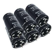 6X 2.7V 500F Farad Four Feets Bottom Capacitor 35*60MM Super Capacitor Black