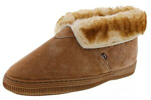 LAMO WOMEN'S LADY'S P001WCNT LINED MOCCASIN SLIP ON BOOTIES