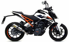 SILENCIEUX ARROW THUNDER TITANE KTM DUKE 125 2017 - 71675MI+71860PK