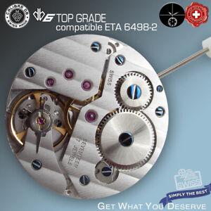 MOVEMENT CALIBRE DB6 CDG compatible ETA 6498-2 TOP GRADE HAND WIND SWISS MADE