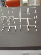 Plastic Coated Metal Plate Stands Various Sizes