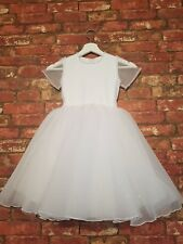 Flower Girl  Princess Kids Party First Communion Wedding Birthday Ball Gown