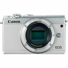 Canon EOS M100 Mirrorless Digital Camera - White