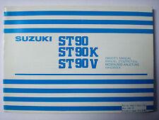Bedienungsanleitung SUZUKI ST90 ST90K ST90V