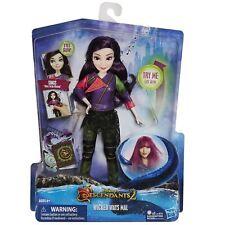 Disney Descendants Movie Wicked Ways Mal Fashion Singing Doll Eyes Light Up