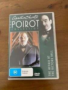 AGATHA CHRISTIE POIROT DVD TV SERIES LIKE NEW THE AFFAIR AT THE VICTORY BALL