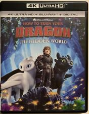 HOW TO TRAIN YOUR DRAGON 3 THE HIDDEN WOLRD 4K ULTRA HD BLU RAY 2 DISC SET BUYIT