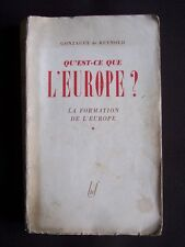 Qu'est-ce que l'Europe ? - La formation de l'Europe - T.1