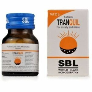 SBL Tranquil Tabs 25g NIB-Original Best Results-Top-Quality + Free Shipping