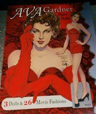 David Wolfe Paper Doll Ava Gardner Movie Fashions