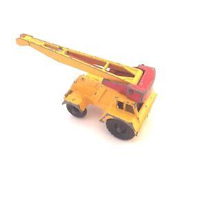 LESNEY MATCHBOX SERIES TAYLOR JUMBO CRANE (véhicule grue de chantier)