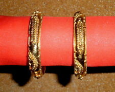 Gold Plated Handcrafted Bangles