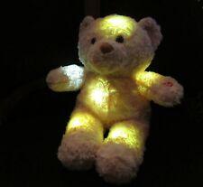 LED Nachtlicht Kuscheltier Bär Einschlaftiere Größe ca.21cm 45222