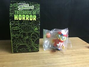 Kidrobot The Simpsons Treehouse of Horror Vinyl Figure RALPH WIGGUM CLOWN RARE