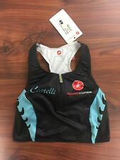 Castelli Women's Body Paint Tri Top Size Small New