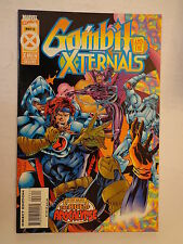 Gambit and the X-Ternals Nicieza Milgrom Volume 1 #3 Marvel Comics May 1995 NM