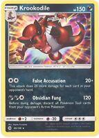 Pokemon Card - Sun & Moon 85/149 - KROOKODILE (holo-foil) - NM/Mint