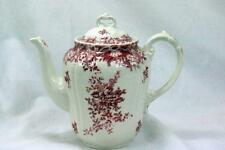 Villeroy And Boch Valeria Red 4 Cup Coffee Pot Red Backstamp
