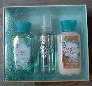 Bath & Body Works Magic in the Air Set Fragrance Lotion Body Wash Discontinued