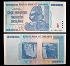 1 x Zimbabwe 100 Trillion dollar banknote-2008/AA /authentic/ uncirculated