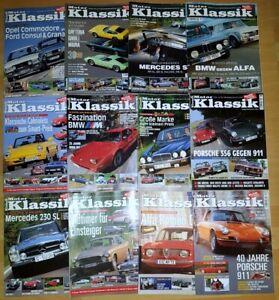 Motor Klassik Jahrgang 2003 komplett Hefte 1-12 Zeitschrift Automobile Oldtimer